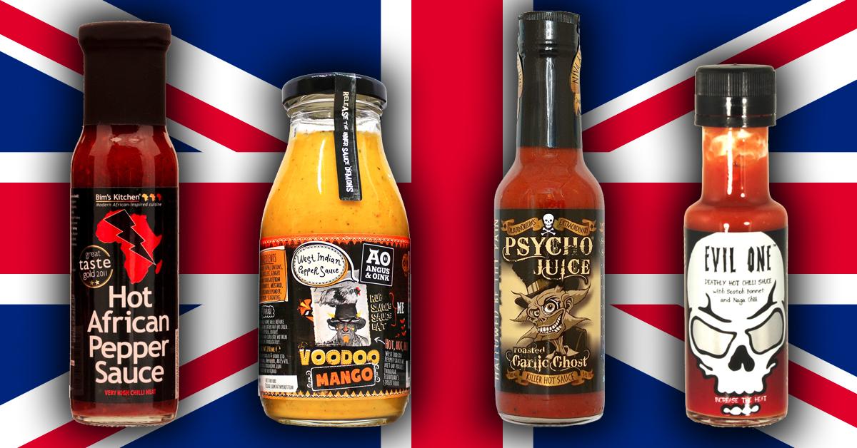 British Hot Sauces