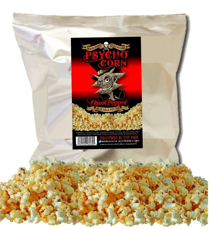 dr burnoriums psycho ghost chilli popcorn blow your face off