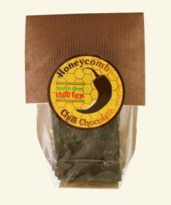 south devon honeycomb chilli chocolate bar