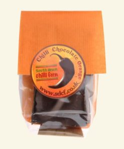 south devon orange chilli chocolate bar