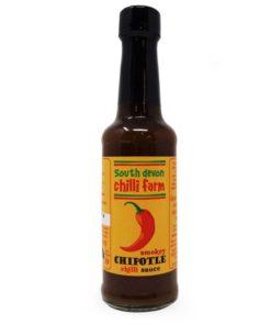 south devon smokey chipotle chilli sauce in a bottle
