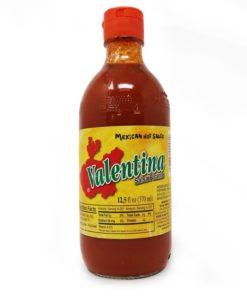 valentina red salsa picante hot sauce in a bottle