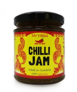 mr vikkis xxx hot chilli jam in a jar