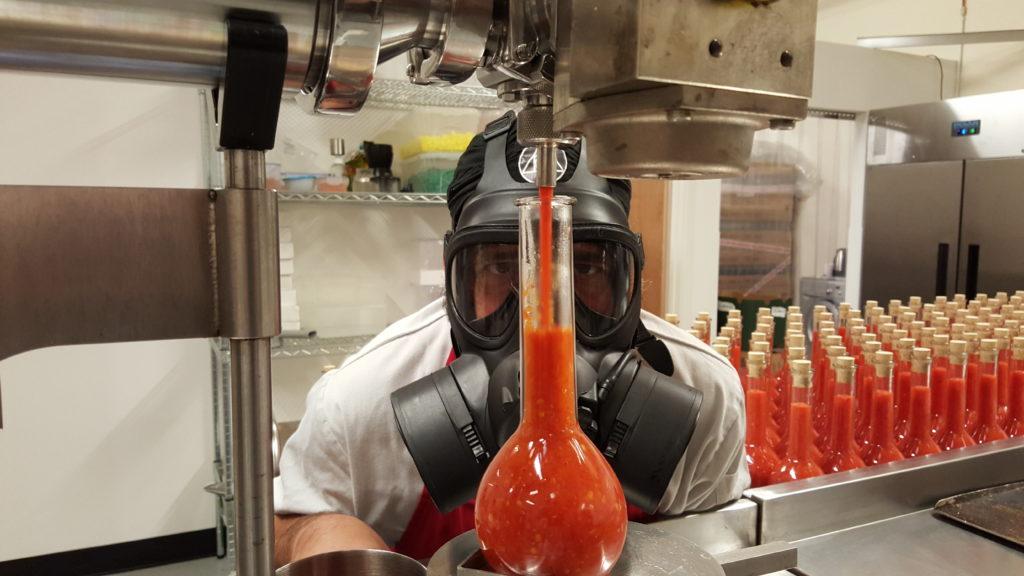 Chilli Alchemist Purus Chilli Sauce In The Making