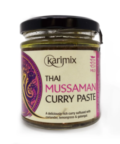 karimix thai mussaman curry paste in a jar