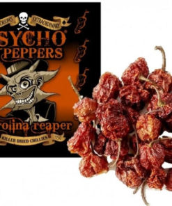 dr burnoriums psycho peppers carolina reaper seriously hot