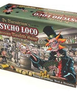 dr burnoriums psycho loco russian roulette game standard edition seriously fun