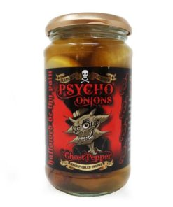 dr burnoriums psycho onions ghost pepper in a jar