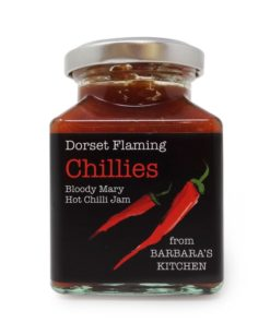barbaras kitchen bloody mary chilli jam in a jar