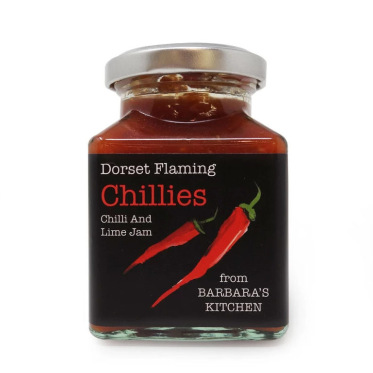 barbaras kitchen chilli and lime jam in a jar