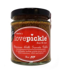 lovepickle chilli tomato hot in a jar