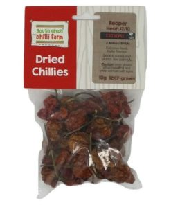 south devon carolina reaper dried chillies for cooking