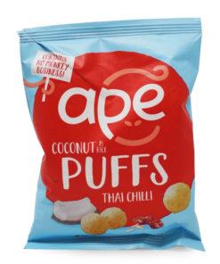pack of ape thai chilli coconut puffs