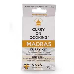 curry on cooking madras curry recipe kit