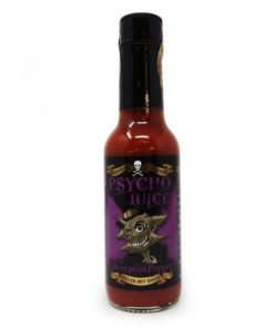 dr burnorium's scorpion hot chilli sauce in a bottle