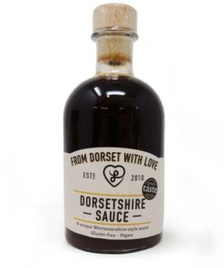 from dorset with love dorsetshire sauce in a bottle