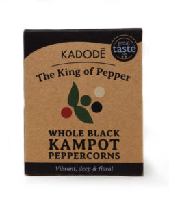 kadode kampot peppercorns whole black in a pack