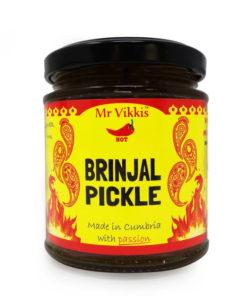 mr vikki's brinjal pickle in a jar