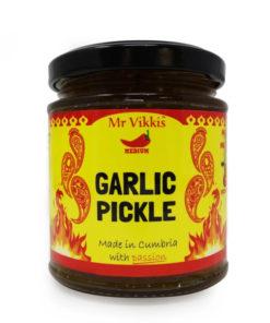 mr vikki's garlic pickle in a jar