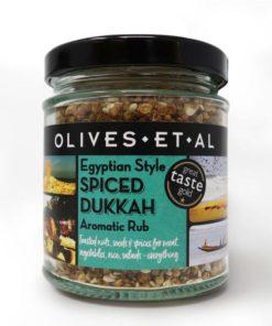 olives et al egyptian style dukkah in a jar