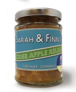 sarah finn apple cider relish in a jar