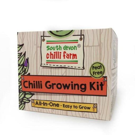 south devon co all in one chilli growing kit great gift