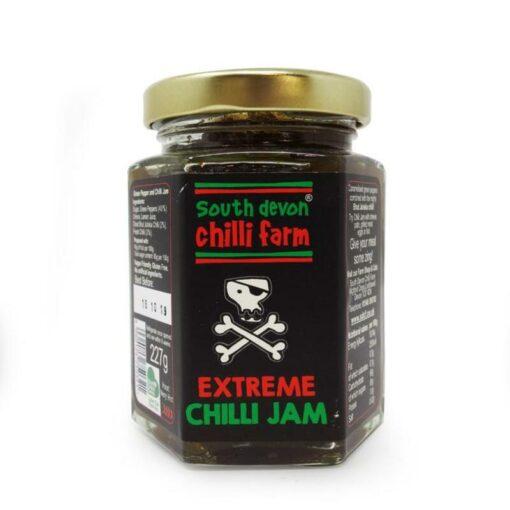 south devon extreme bhut jolokia chilli jam in a jar