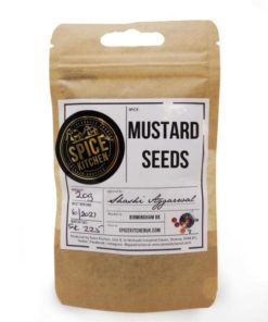 spice kitchen mustard seeds in a pouch