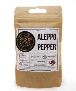 spice kitchen syrian aleppo pepper spice pouch
