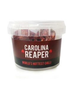 spice n tice carolina reaper dried chillies in a pot