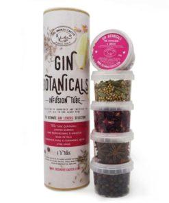 the smokey carter gin botanicals gift set