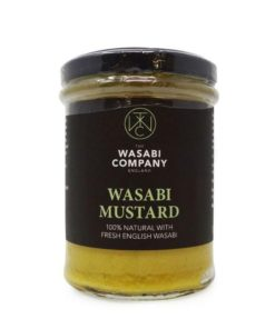 the wasabi company wasabi mustard in a jar
