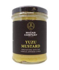the wasabi company yuzu mustard in a jar