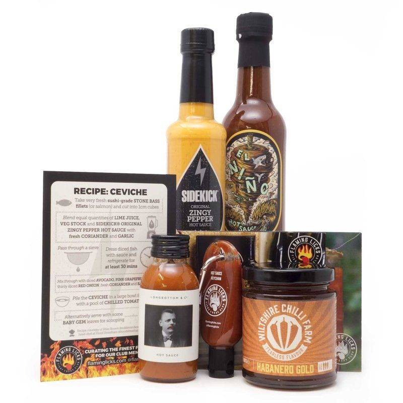 Hot Sauce Gift Sets | Chilli Sauce Gift