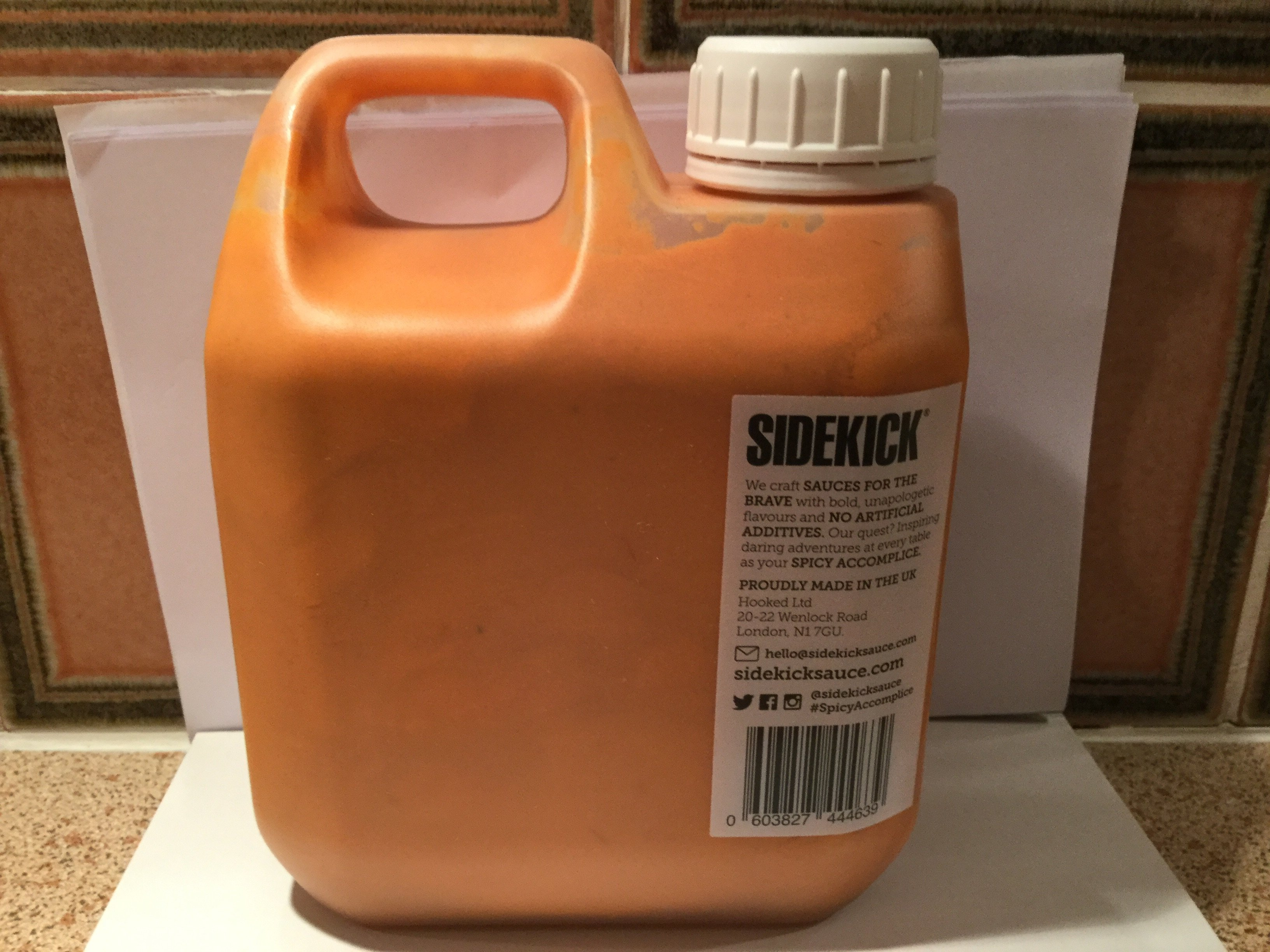 Sidekick - 1L Zingy Pepper Sauce