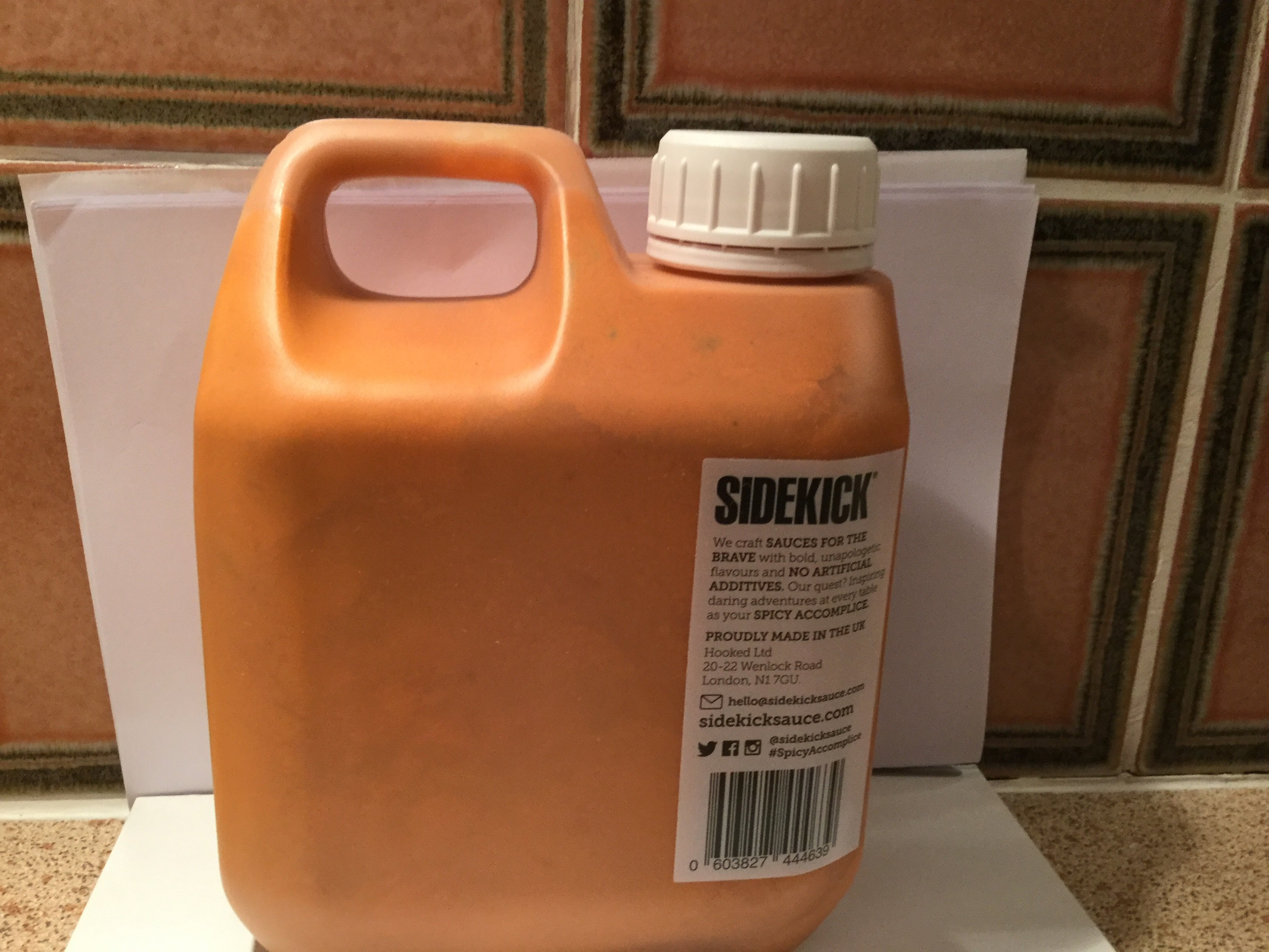 Sidekick - 1L Mellow Pepper Sauce