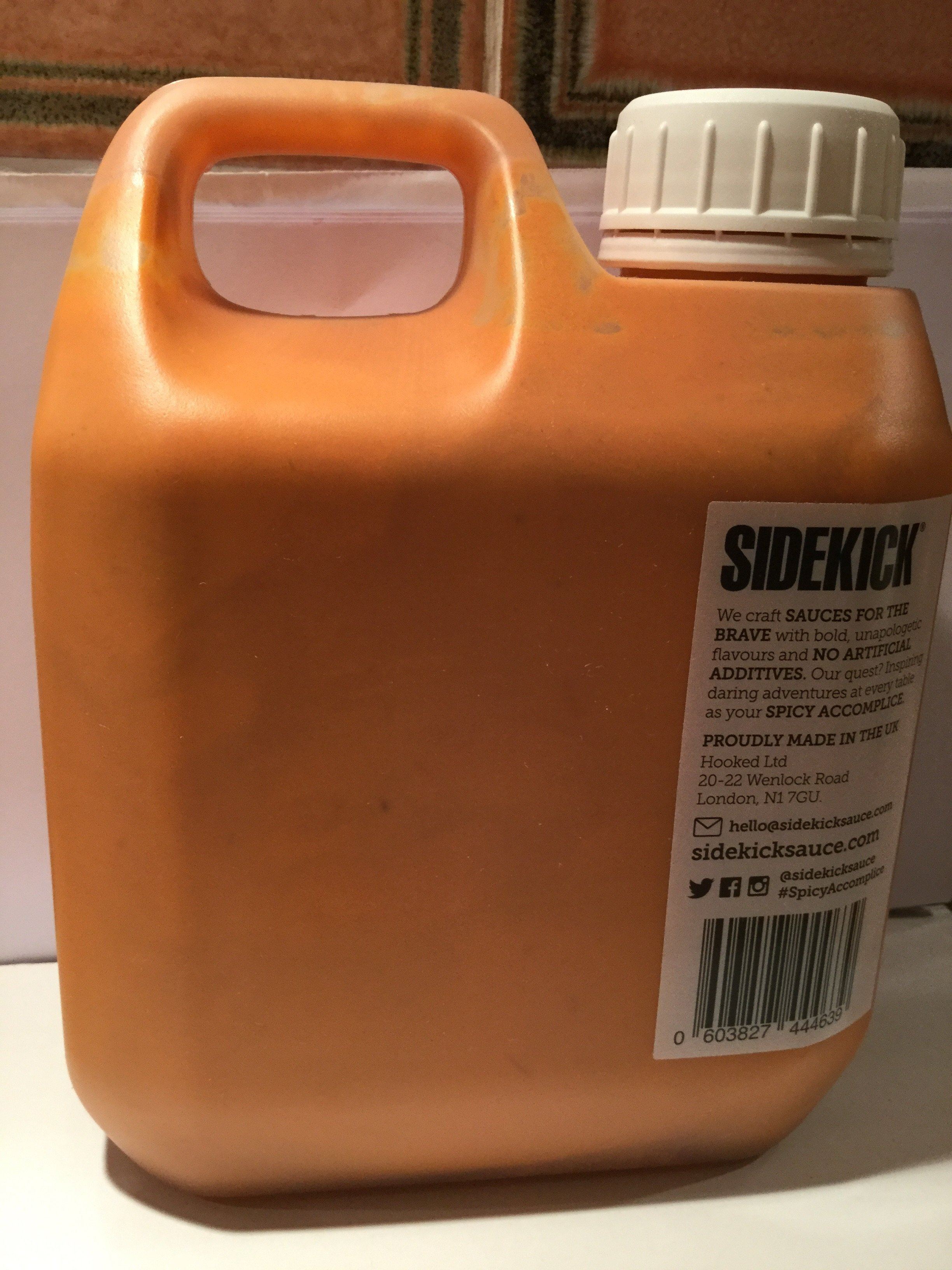 Sidekick - 1L Screaming Pepper Sauce