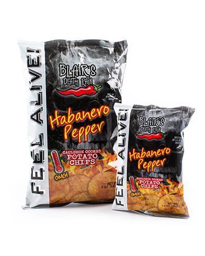 Blair's - Death Rain Habanero Crisps