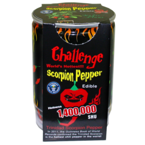Challenge - Scorpion Pepper Plant