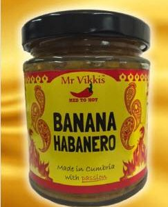 Mr Vikki's - Hot Banana Habanero