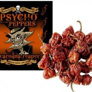 Dr Burnorium's - Psycho Peppers Carolina Reaper